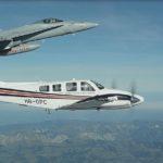 [:de]Identifikation eines Flugzeuges durch die Luftwaffe[:fr]Identification d'un avion par les Forces aériennes[:]
