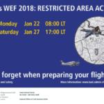 [:de]WEF: Einschränkungen im Luftraum 22.-27.1.18[:fr]WEF : restrictions de circulation dans l'espace aérien du 22 au 27 janvier 2018[:]