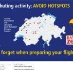 [:de]Awareness Kampagne DropZones 1: Parachuting activity AVOID HOTSPOTS[:fr]Campagne de sensibilisation DropZones 1: Évitez les HOTSPOTS prisés des parachutistes[:]