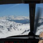 Flugtaktik in den Alpen